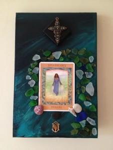 Goddess Yemana. Tarot art lwres