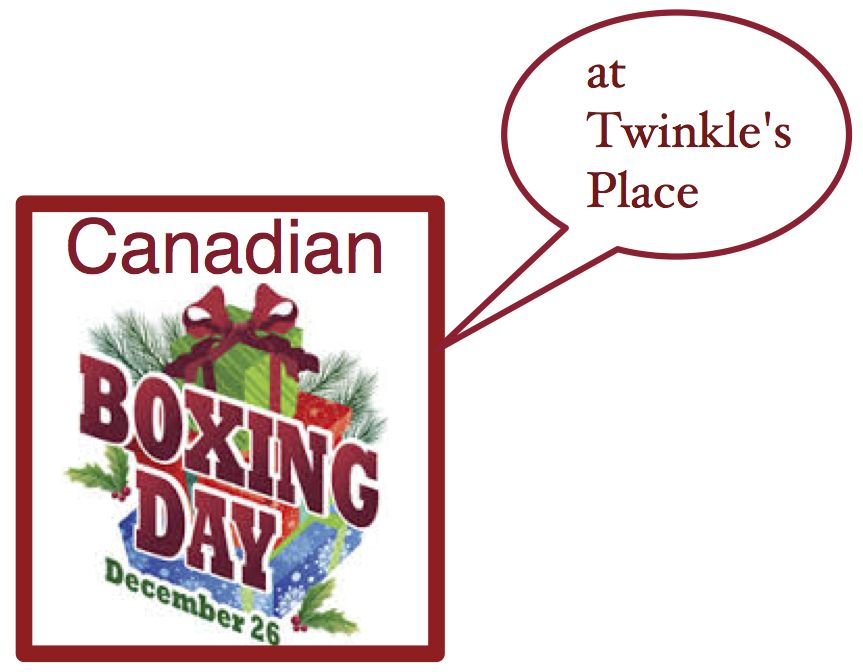 Canadian Boxing Day