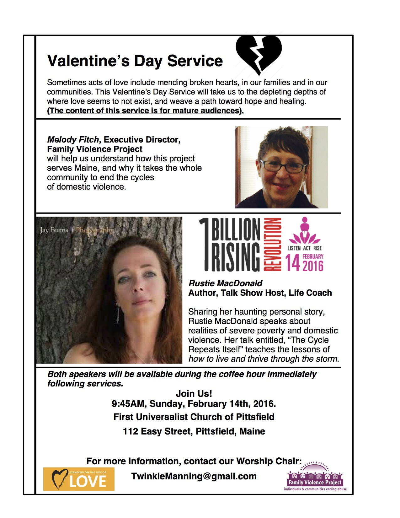 Valentines Day 2016 service billion
